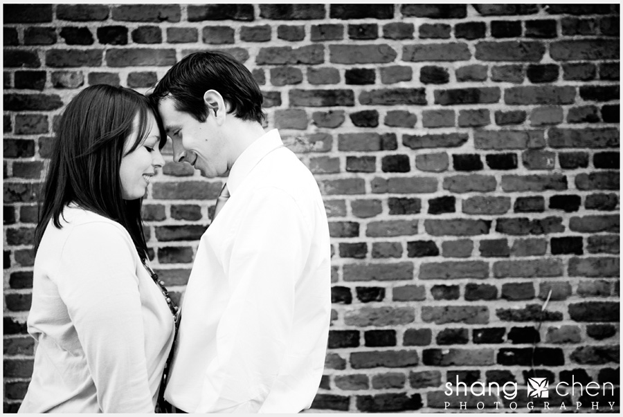 Boston engagement photos in North End