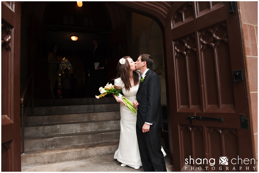 Wedding photos at St. Mary's in Newport, RI