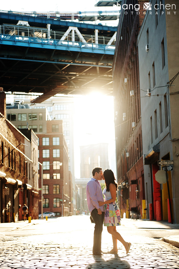 Jade And Jorge Engaged West Village And Brooklyn