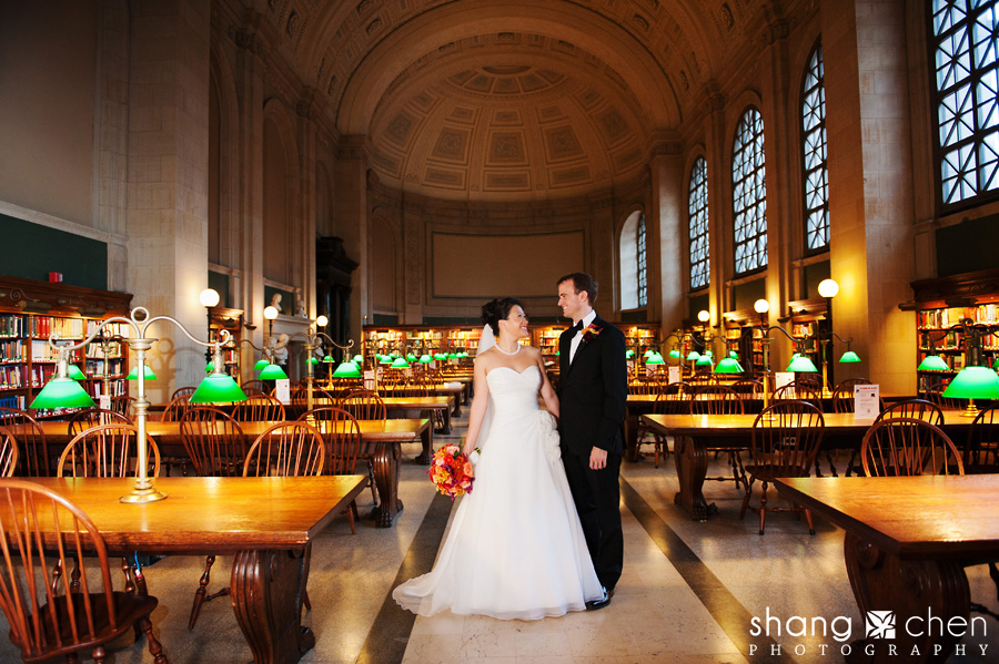 Boston Public Library Wedding.Lisa And Seth Married A Boston Public Library Wedding