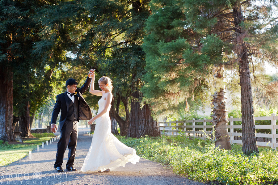Alexis and hersh married napa valley wedding for Wedding dress alterations roseville ca